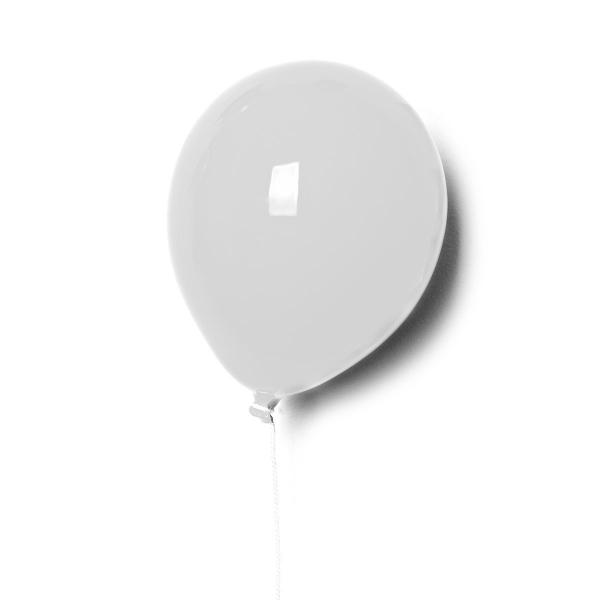 Ballon   Keramik Luftballon - small-weiss