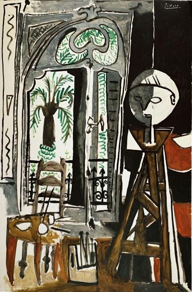 Pablo Picasso | Das Atelier, 1955