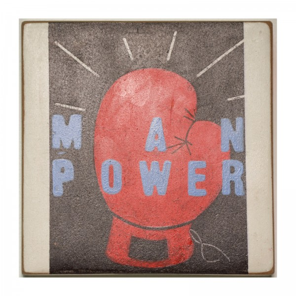 Kati Elm: man power, 2017
