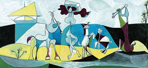 Pablo Picasso | Die Freude des Lebens, 1946