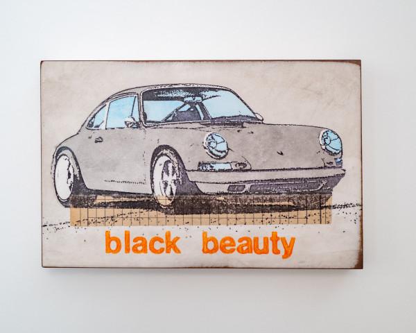 Jan M. Petersen: black beauty, Porsche grau, Auflage 1/12