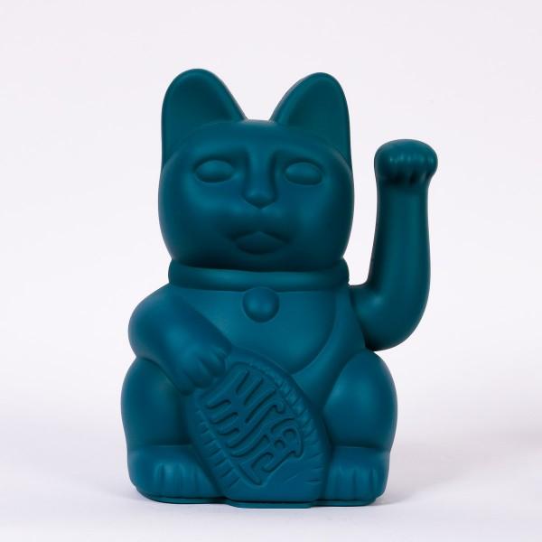 Lucky Cat Winkekatze - Dunkelgrün