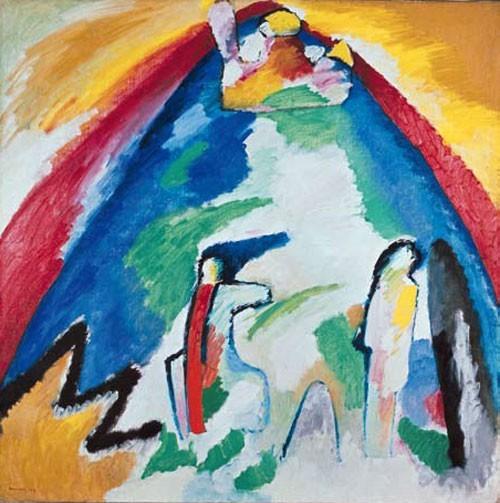 Wassily Kandinsky | Berg, 1909