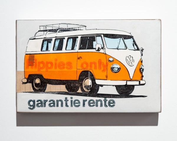 Jan M. Petersen: garantierente (orangener VW-Bus)