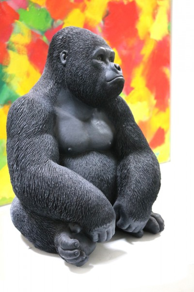 Deko Figur Gorilla Side | Medium