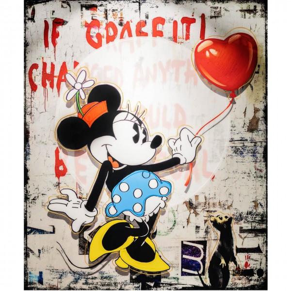 Micha Baker | Balloon Girl, Mini Mouse