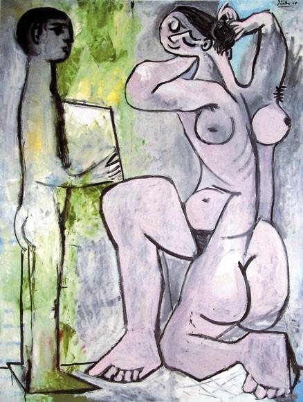 Pablo Picasso | La Coiffure, 1954