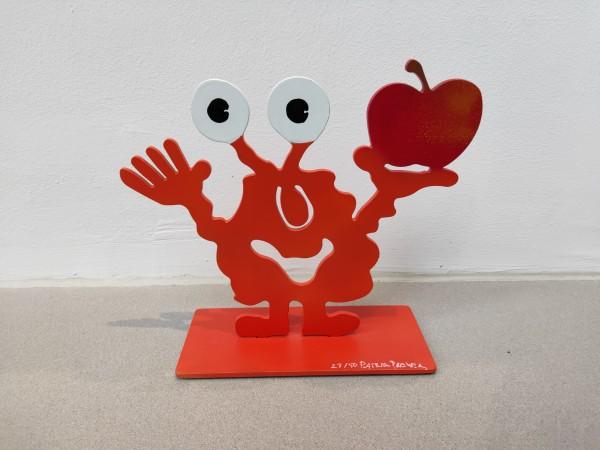 Patrick Preller I Monsterkollege mit Apfel - 2 I Signiert, nummeriert
