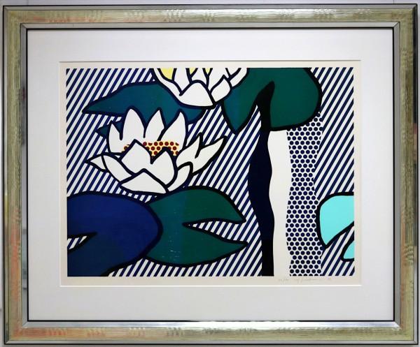 Roy Lichtenstein: Les Nymphéas | Water Lilies | Seerosen (1993) | 33/100