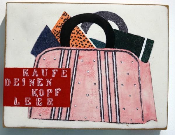 Kati Elm | kaufe deinen kopf leer (Handtasche)
