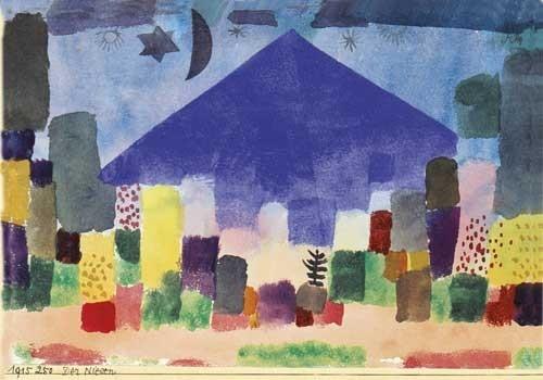 Paul Klee | Der Niesen, 1915, 250