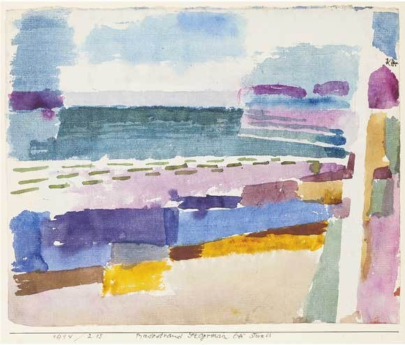 Paul Klee | Badestrand St. Germain bei Tunis, 1914, 215