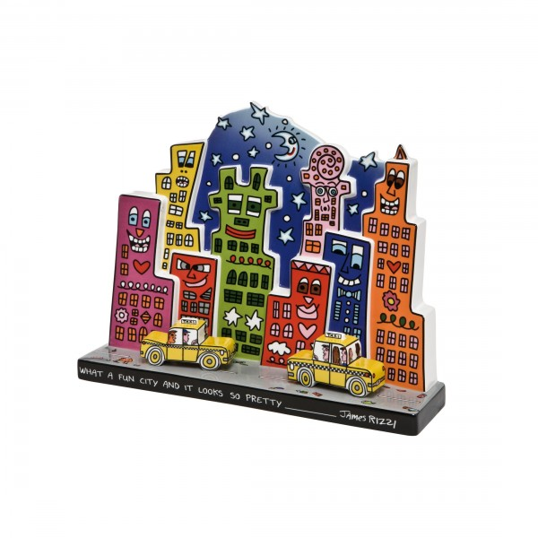 James Rizzi: What A Fun City - Figur