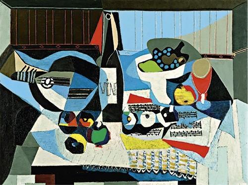 Pablo Picasso | Die Weinflasche, 1926