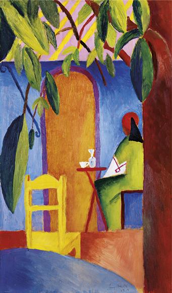 August Macke | Türkisches Café II, 1914