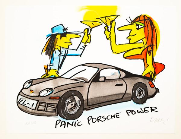 Udo Lindenberg: Panic Porsche Power, Auflage 156/250