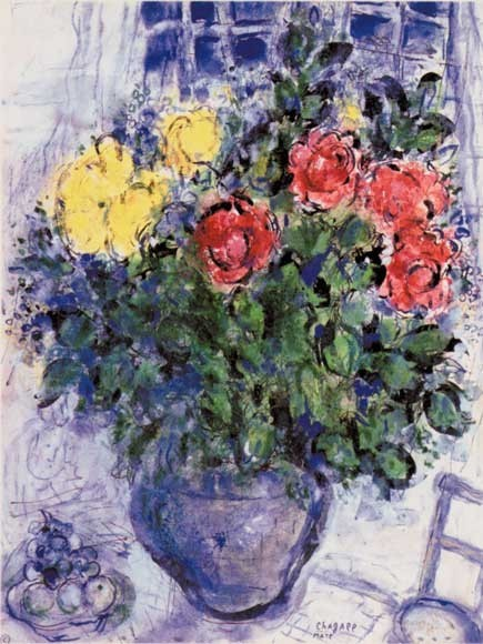 Marc Chagall | Blumenstillleben, 1960
