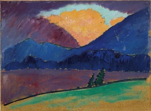 Alexej von Jawlensky | Sommerabend in Murnau, um 1909