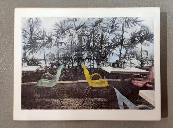 Kati Elm: Bäume und Stühle, Limited Edition, 2018
