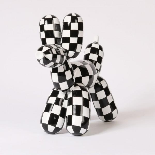 Balloon Dog - Black & White | Small