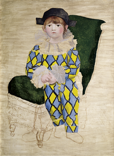 Pablo Picasso | Paul als Harlekin, 1924