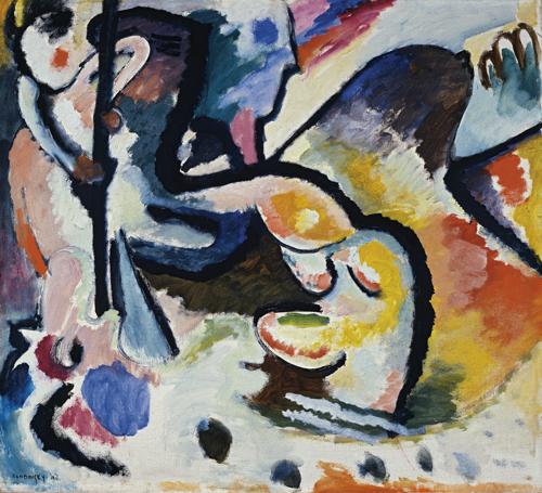 Wassily Kandinsky | St. Georg III, 1911
