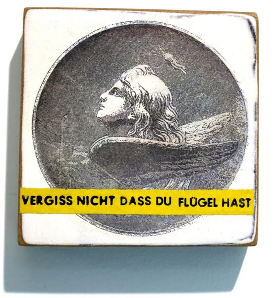 Kati Elm | VERGISS NICHT DASS DU FLÜGEL HAST