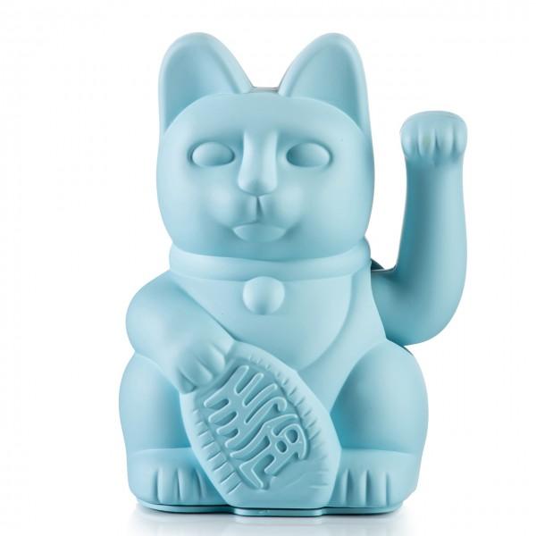 Lucky Cat Winkekatze - Hellblau