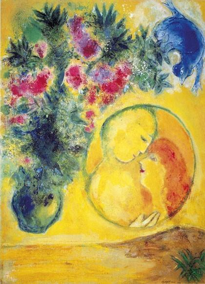 Marc Chagall | Sonne und Mimosen