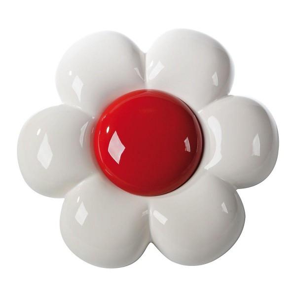 Flo   Keramisches Gänseblümchen - rot