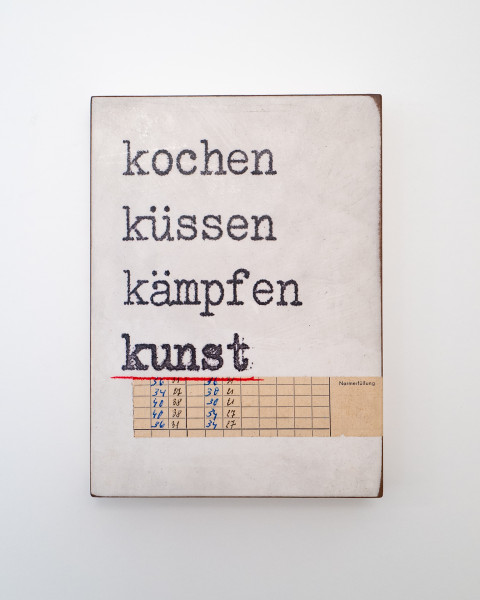 Jan M. Petersen: kochen küssen kämpfen kunst