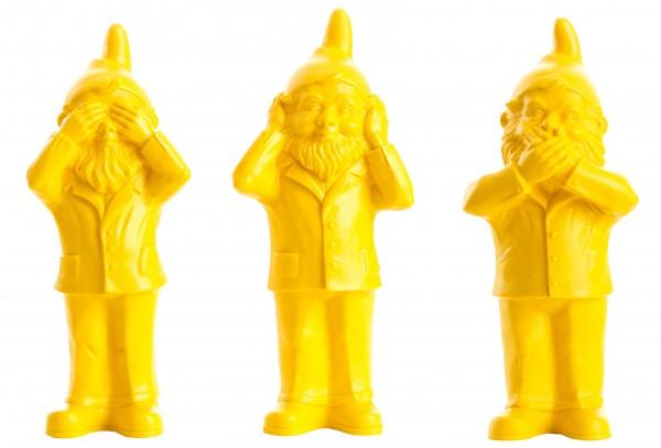 Ottmar Hörl: Geheimnisträger (Set einfarbig), 2006 (gelb)