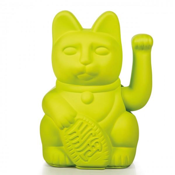 Lucky Cat Winkekatze - Lime green