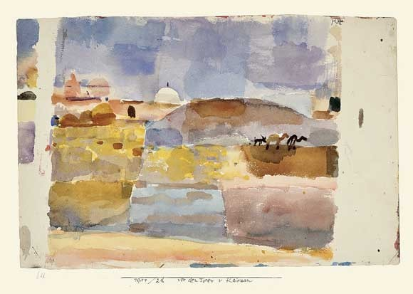 Paul Klee | Vor den Toren von Kairuan, 1914, 216
