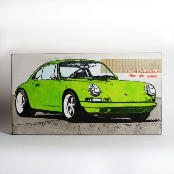 Jan M. Petersen - Bio Porsche - fährt mit Spinat, Unikat