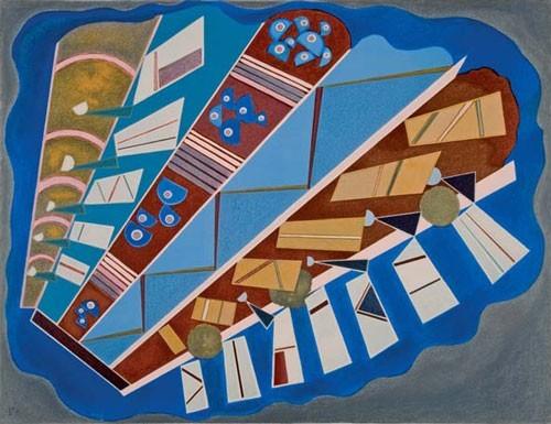 Wassily Kandinsky | Mit- und aufeinander