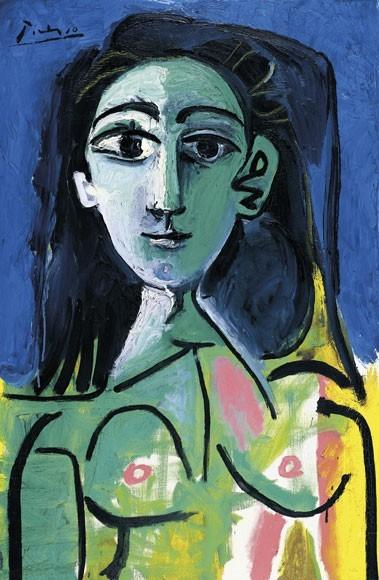 Pablo Picasso | BUSTE DE FEMME (JAQUELINE), 1963