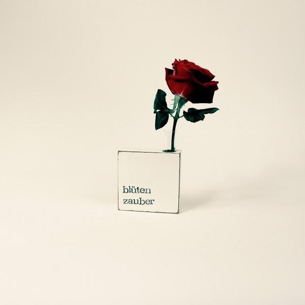 Indra Ohlemutz   Blütenzauber   Vase-Textplatte