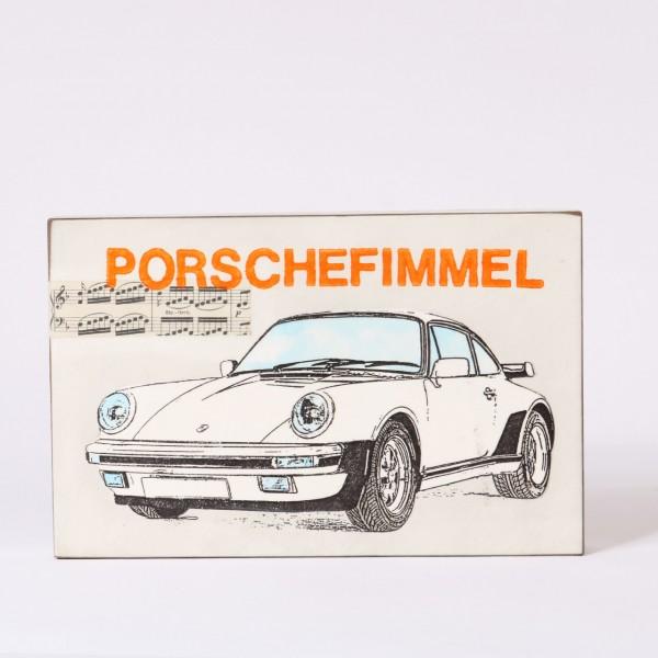 Jan M. Petersen | Porschefimmel (Porsche weiss, mit Noten)