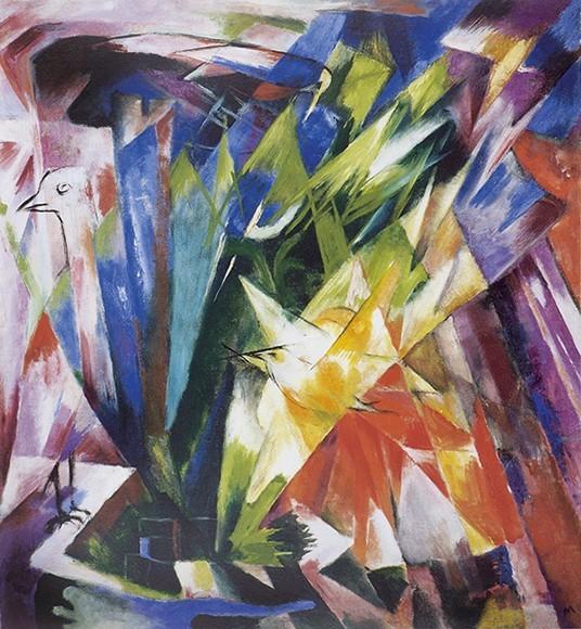 Franz Marc | Vögel, 1914