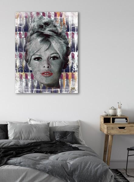 Devin Miles   Red Lips – Brigitte Bardot