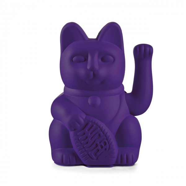 Lucky Cat Winkekatze - Violett