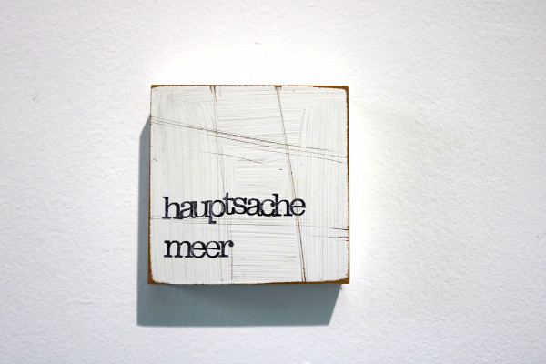 Indra Ohlemutz: hauptsache meer (10 x 10 cm)