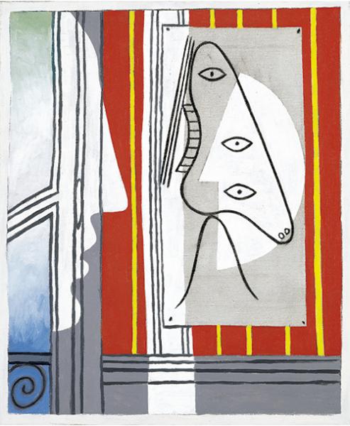 Pablo Picasso | Figur und Profil, 1928