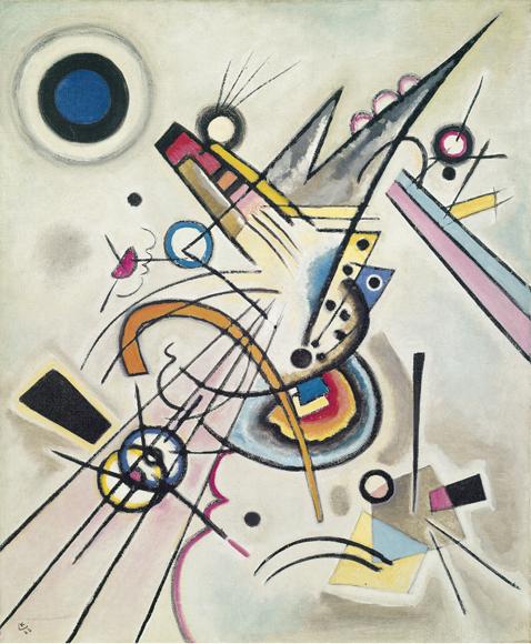 Wassily Kandinsky | Diagonale, 1923