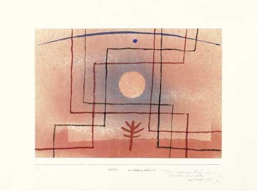 Paul Klee | nach Regeln zu pflanzen, 1935, 91