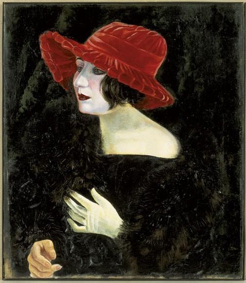 Otto Dix | Frau Martha Dix, 1923