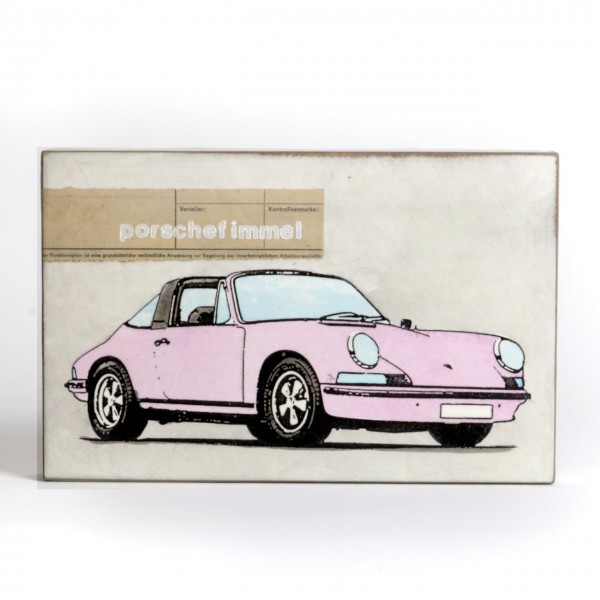 Jan M. Petersen - Porschefimmel - Porsche Caprio rosa 2021