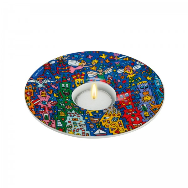 James Rizzi: Joy To The World. Künstlerteelicht