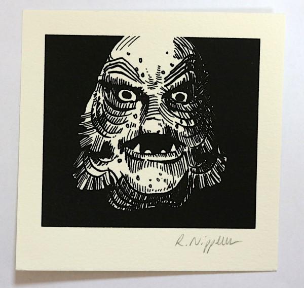 Creature of the Black Lagoon | Siebdruck auf Büttenpapier